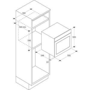 CANDY FCPS615X – codice articolo 065