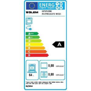Glem Gas GFS52BK – codice articolo 063